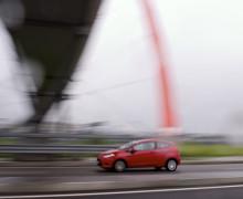 Automobile in corsa