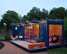 Da container e altri scarti GM inventa la casa sostenibile