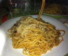 spaghetti sarde mirtilli