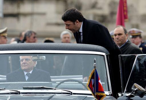 Mattarella e Renzi
