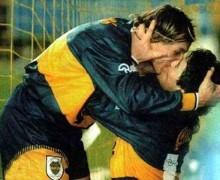 Caniggia e Maradona