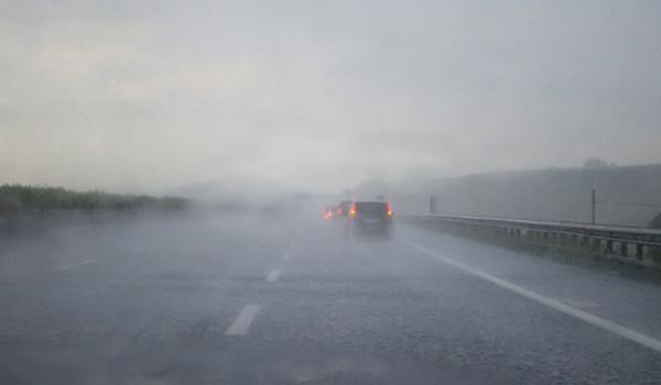 maltempo su autostrada