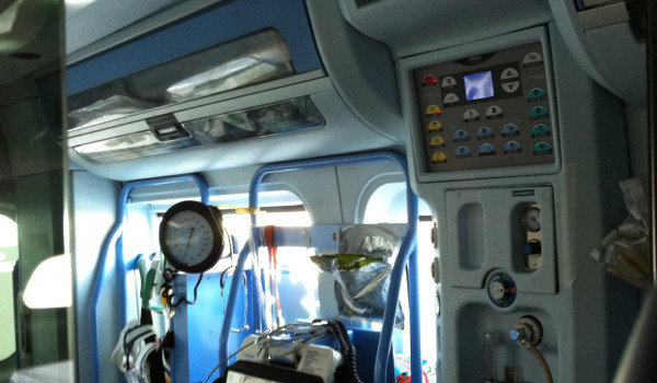 Attrezzatura ambulanza