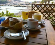 Colazione in riva al mare