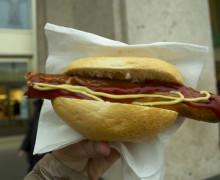 Wustel con panino