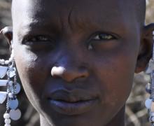 Africa ragazza Masai