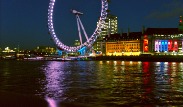 Londra la ruota Tamigi