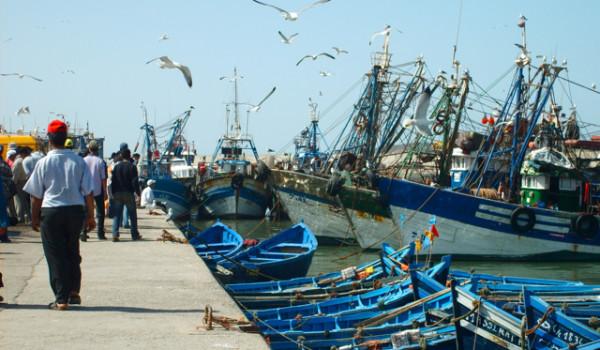 Molo barche da pesca Marocco